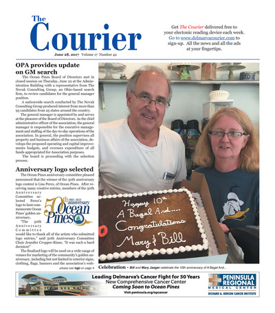 Delmarva Courier - Jun 28, 2017
