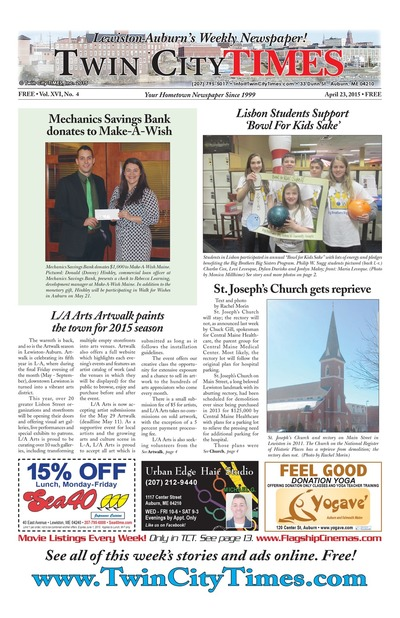 Twin City Times - Apr 23, 2015
