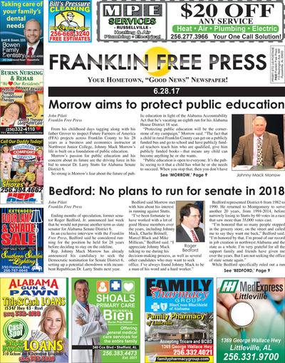 Franklin Free Press - Jun 28, 2017
