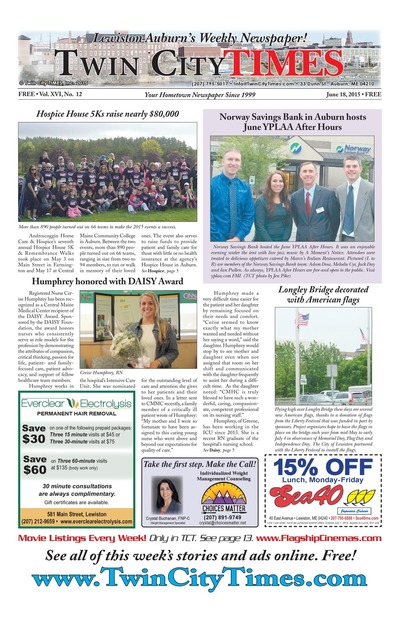 Twin City Times - Jun 18, 2015