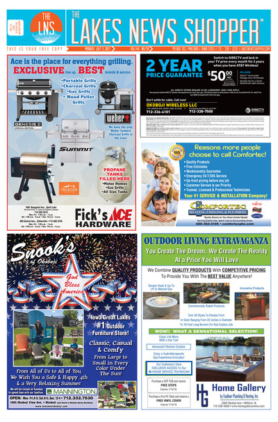Lakes News Shopper - Jul 4, 2017