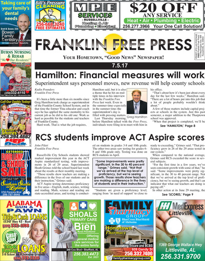 Franklin Free Press - Jul 5, 2017