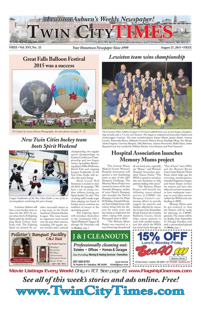 Twin City Times - Aug 27, 2015