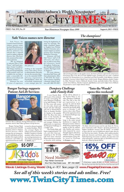 Twin City Times - Aug 6, 2015