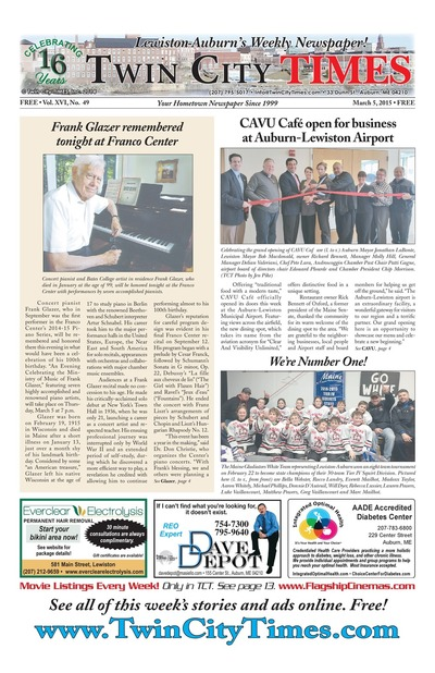 Twin City Times - Mar 5, 2015
