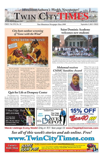 Twin City Times - Sep 3, 2015