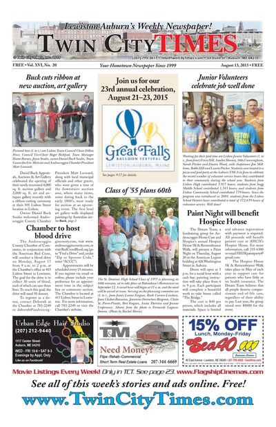 Twin City Times - Aug 13, 2015