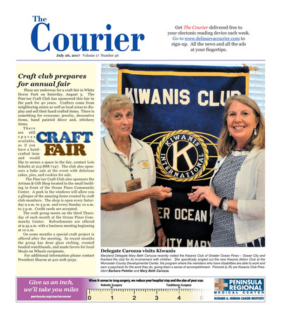 Delmarva Courier - Jul 26, 2017