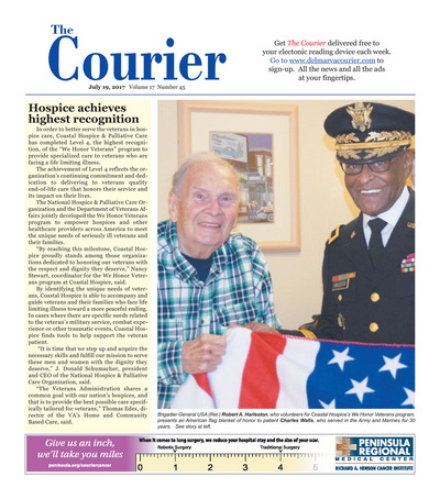 Delmarva Courier - Jul 19, 2017