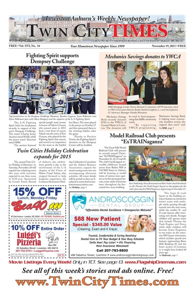 Twin City Times - Nov 19, 2015