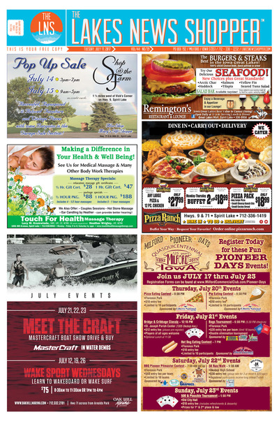 Lakes News Shopper - Jul 11, 2017