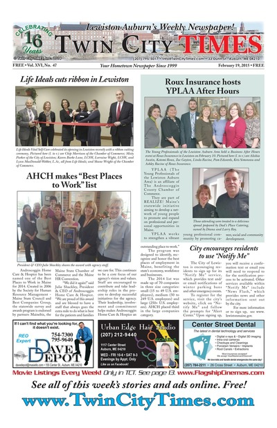 Twin City Times - Feb 19, 2015