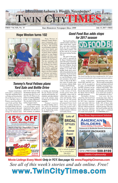 Twin City Times - Jul 13, 2017