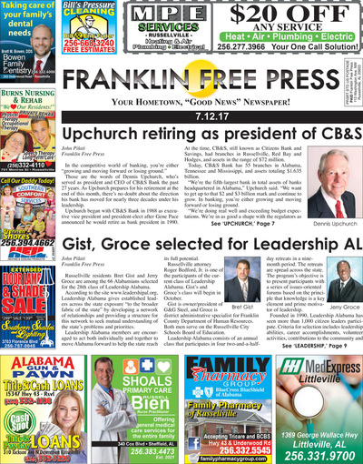Franklin Free Press - Jul 12, 2017