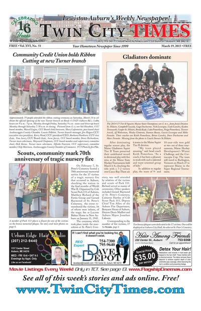 Twin City Times - Mar 19, 2015