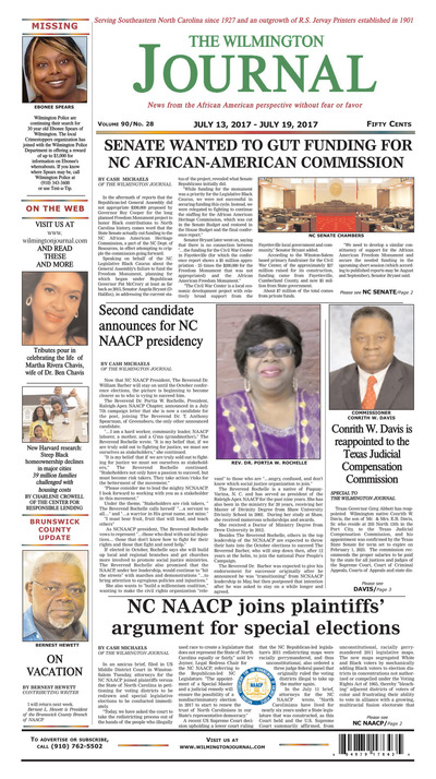 Wilmington Journal - Jul 13, 2017