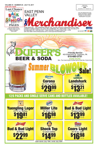 East Penn Valley Merchandiser - Jul 19, 2017