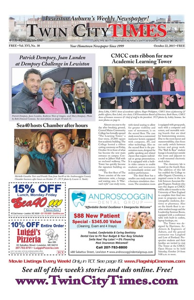 Twin City Times - Oct 22, 2015