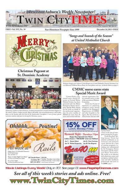 Twin City Times - Dec 24, 2015