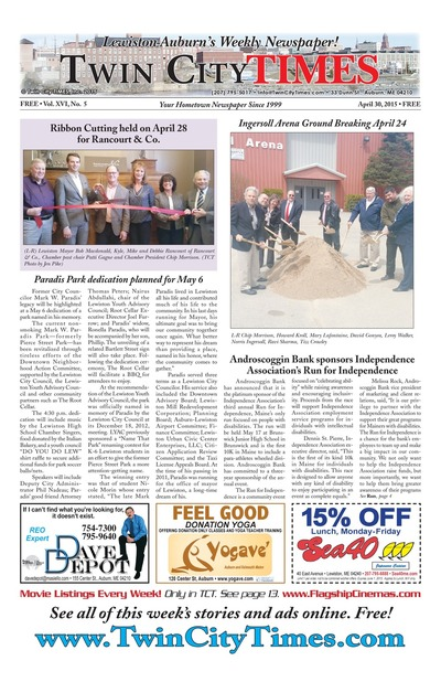 Twin City Times - Apr 30, 2015