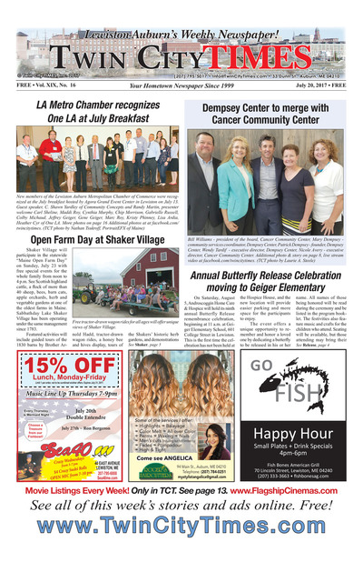 Twin City Times - Jul 20, 2017