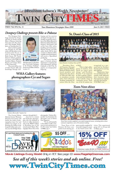 Twin City Times - Jun 11, 2015