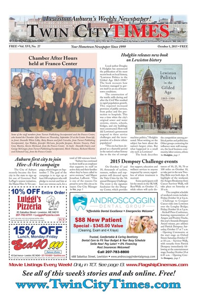 Twin City Times - Oct 1, 2015