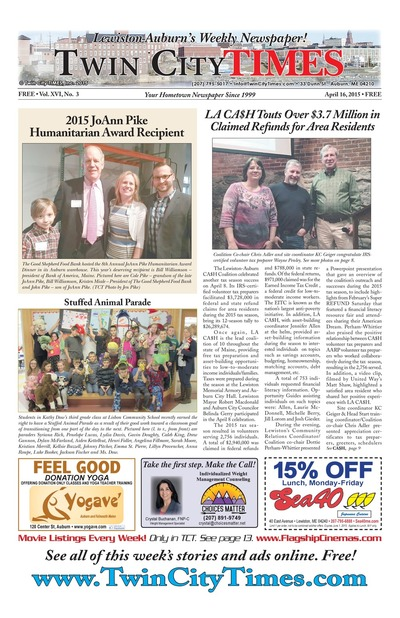 Twin City Times - Apr 16, 2015