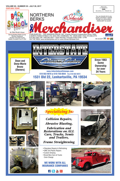 Northern Berks Merchandiser - Jul 26, 2017