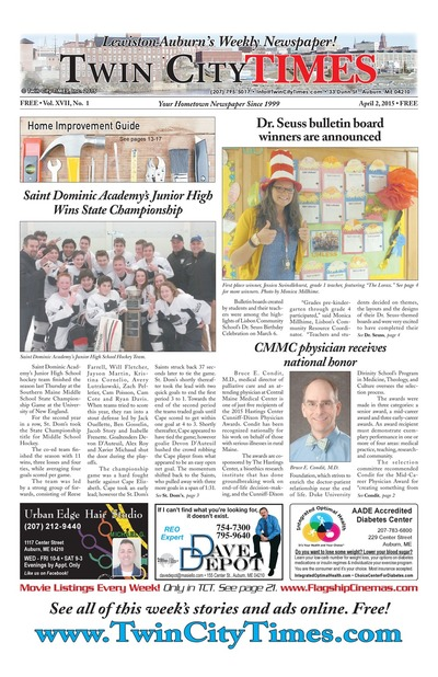 Twin City Times - Apr 2, 2015