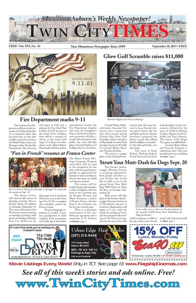 Twin City Times - Sep 10, 2015