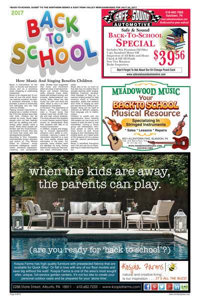Northern Berks Merchandiser - Back to School