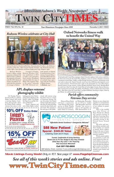 Twin City Times - Nov 5, 2015