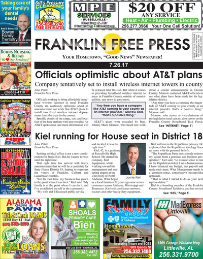 Franklin Free Press - Jul 26, 2017