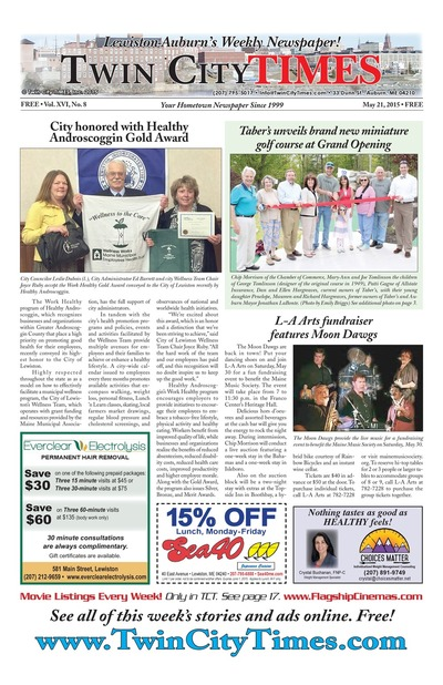 Twin City Times - May 21, 2015