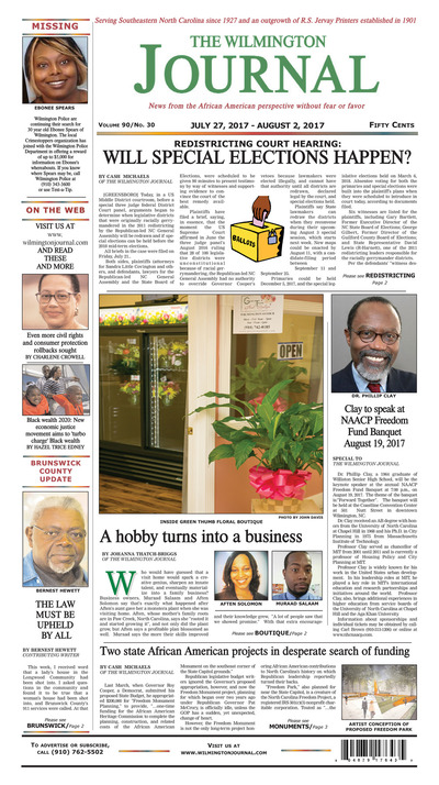 Wilmington Journal - Jul 27, 2017