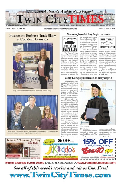Twin City Times - Jun 25, 2015