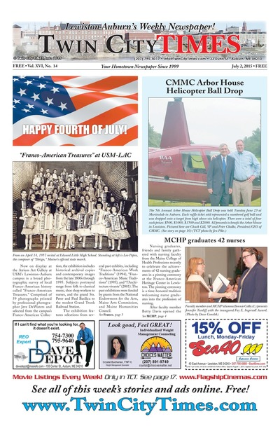 Twin City Times - Jul 2, 2015