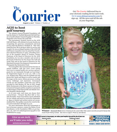 Delmarva Courier - Aug 2, 2017