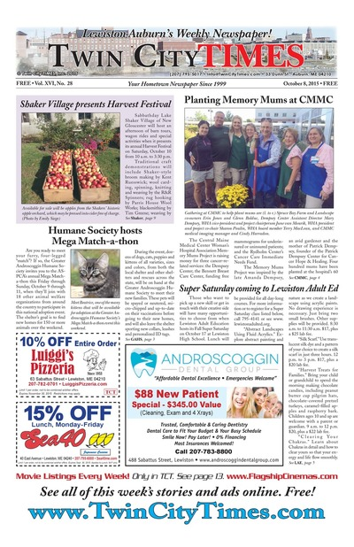 Twin City Times - Oct 8, 2015