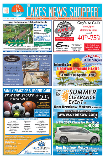 Lakes News Shopper - Aug 1, 2017