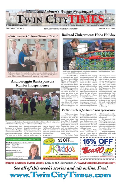 Twin City Times - May 14, 2015
