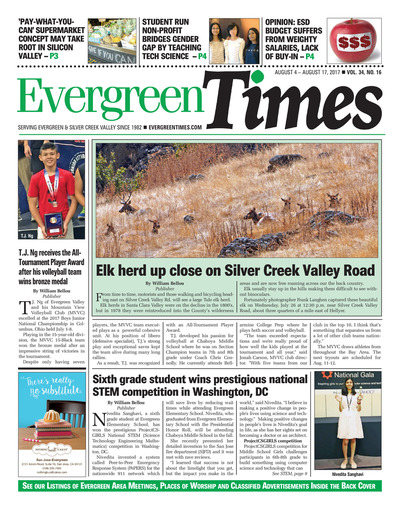 Evergreen Times - Aug 4, 2017