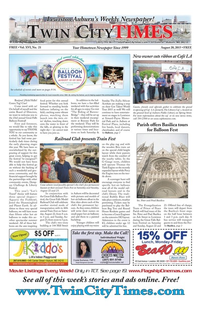 Twin City Times - Aug 20, 2015