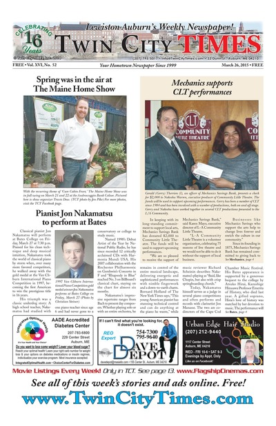 Twin City Times - Mar 26, 2015
