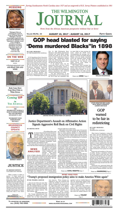 Wilmington Journal - Aug 10, 2017