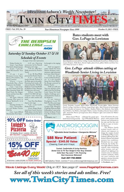 Twin City Times - Oct 15, 2015