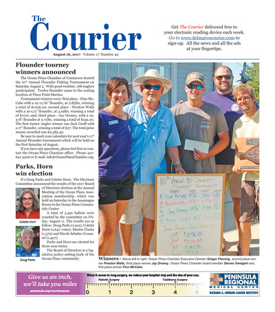 Delmarva Courier - Aug 16, 2017