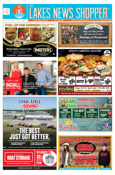 Lakes News Shopper - Aug 15, 2017