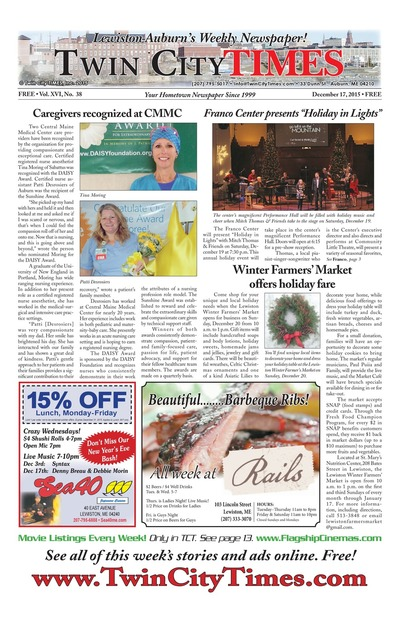Twin City Times - Dec 17, 2015